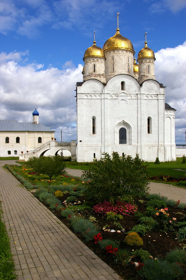 Free Old Russian Monastery Stock Image - 8780881
