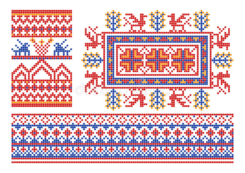 Old russian ornament. vector illustration