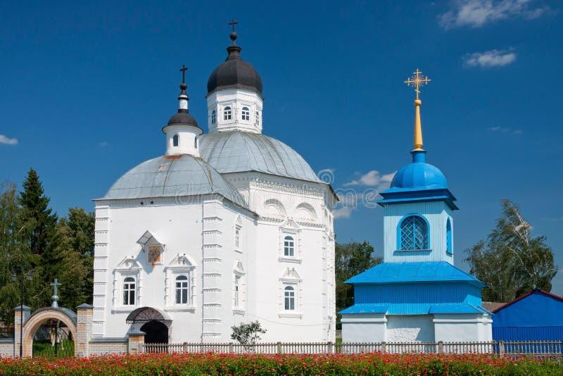 Old Russian orthodox church in Starodub Russia stock images