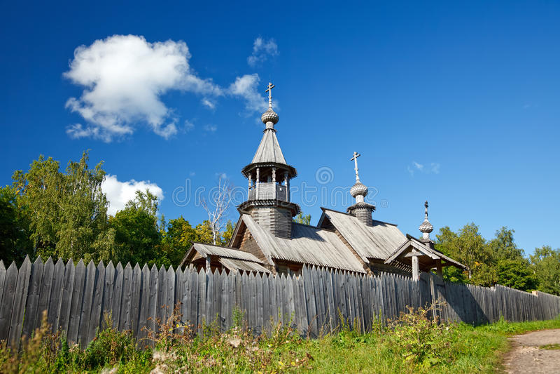 Old russian ortodox church stock photos