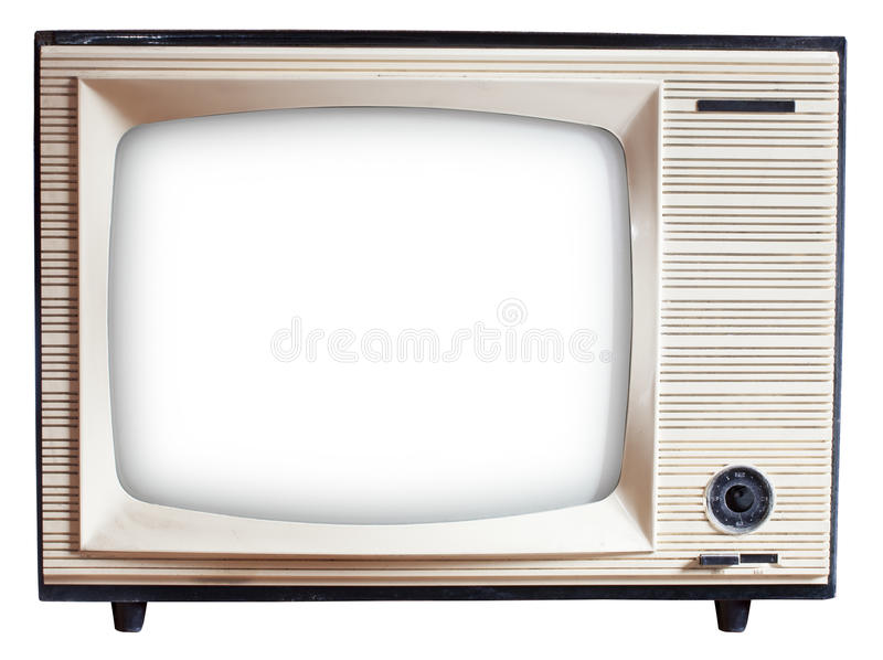 Download Old Russian TV set stock image. Image of obsolete, analog - 36975357