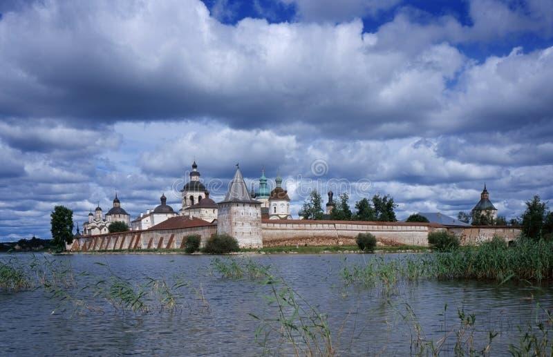 Old Russsian monastery stock photos