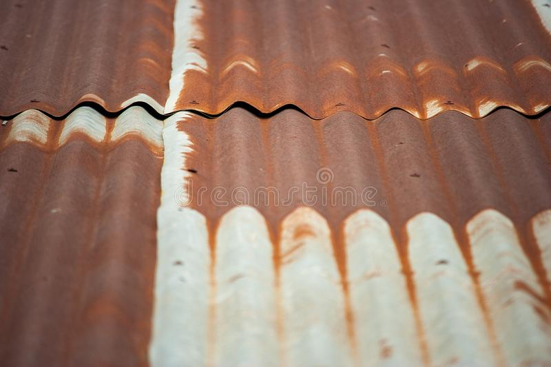 Rust In Roof Zinc Stock Photo Image Of Fence Abstract