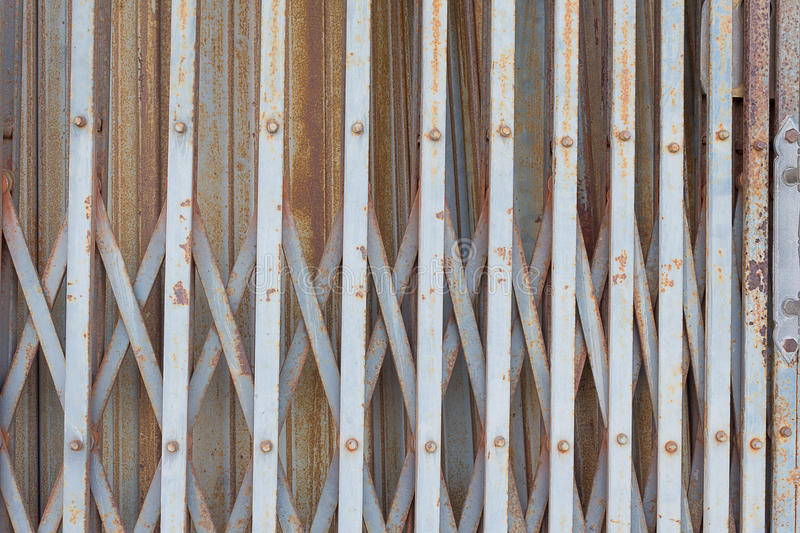 Old rusted iron gates royalty free stock photos