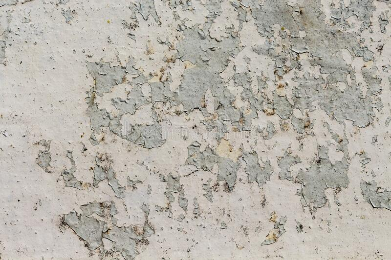 Old rusted metallic wall with peeling paint, Old iron background stock photos