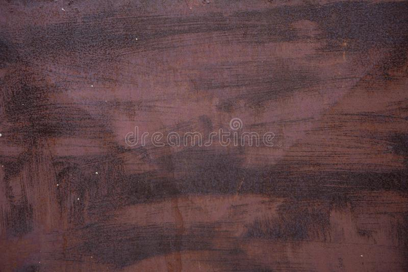 Old rusted red metal background, texture or pattern. Abstract wallpaper. stock photography