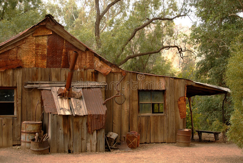 Download Old Rustic Cabin stock image. Image of green, rural, life - 13692513
