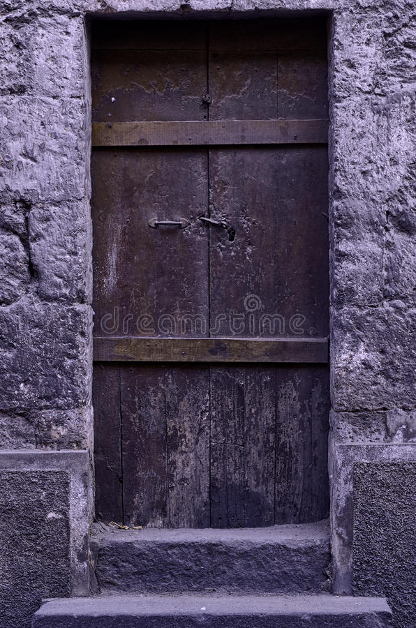 Old rustic door royalty free stock images