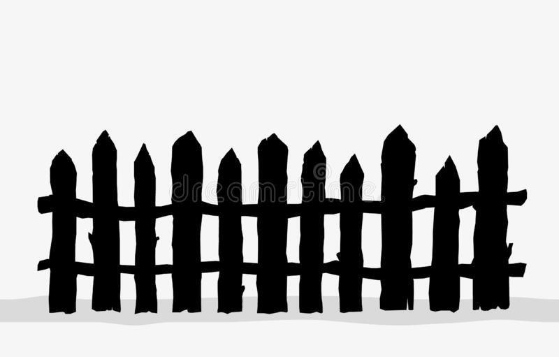 ᐈ Wooden Farm Fence Stock Vectors Royalty Free Farm Fence Silhouette Illustrations Download On Depositphotos