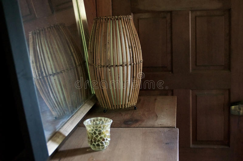 Download Old Rustic Room With Mirror Stock Photo - Image: 37829836