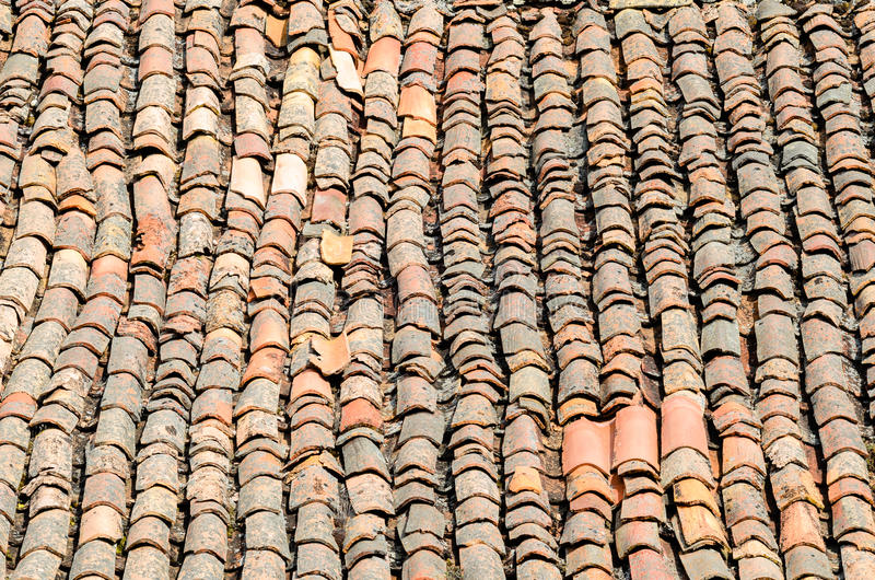Download Old rustic tiles stock image. Image of roofing, grunge - 25986293