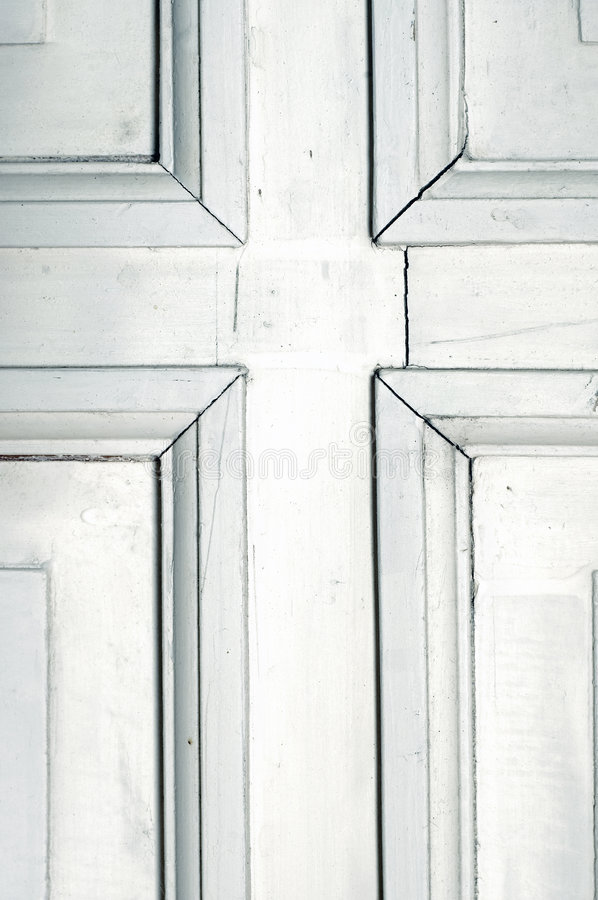Download Old Rustic White Door Detail Stock Photo - Image: 7825530