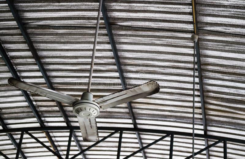 Old rusty ceiling fan hang on warehouse ceiling stock image image download old rusty ceiling fan hang on warehouse ceiling stock image image of lower aloadofball Choice Image