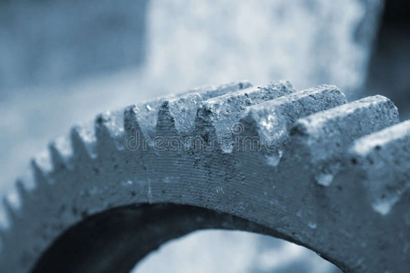 Download Old rusty cogwheel stock image. Image of parts, corrosive - 2312937