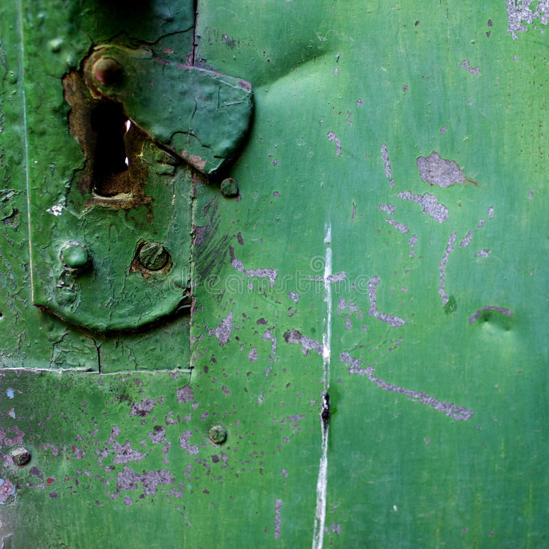 Old rusty doors. Rubbed time royalty free stock images