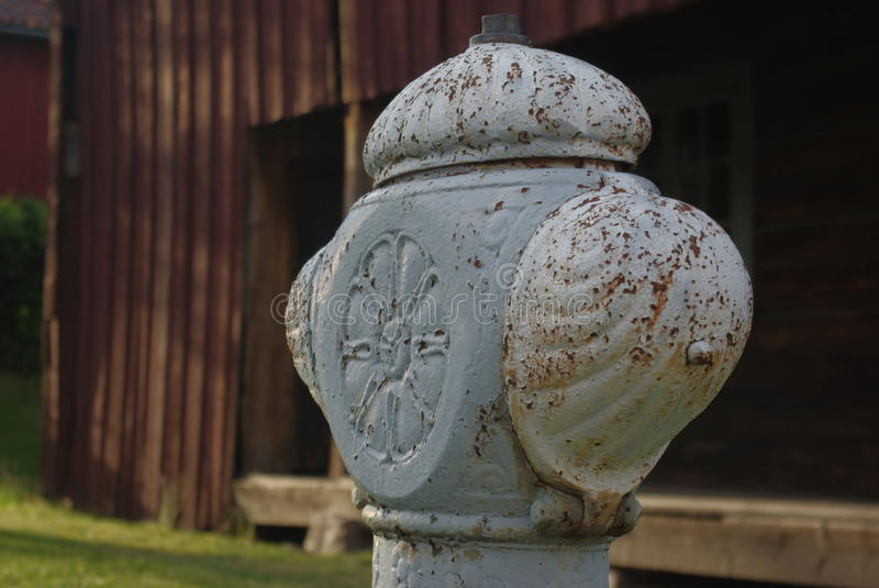 Old rusty fire hydrant royalty free stock photo