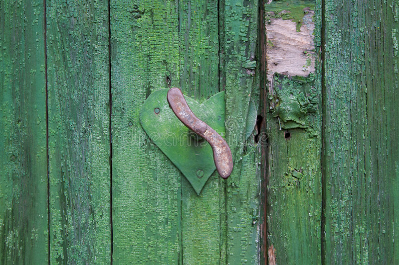 Download Old rusty handle stock image. Image of home, fence, lock - 7580067