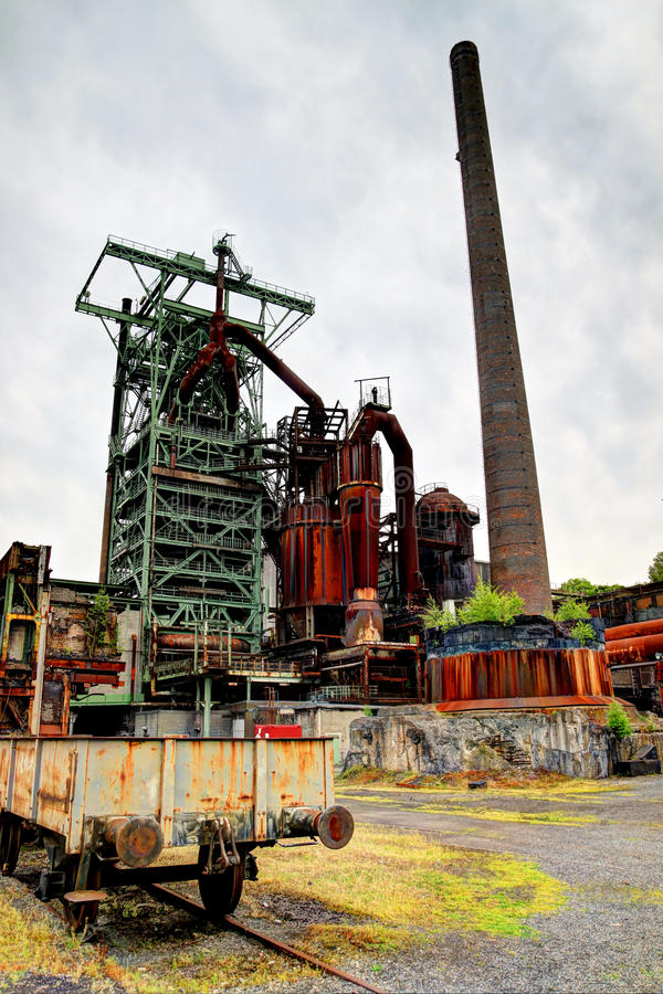 Download Old, Rusty Industrial Furnace Stock Image - Image: 32084507