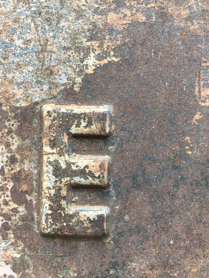 Texture of old metal royalty free stock photography