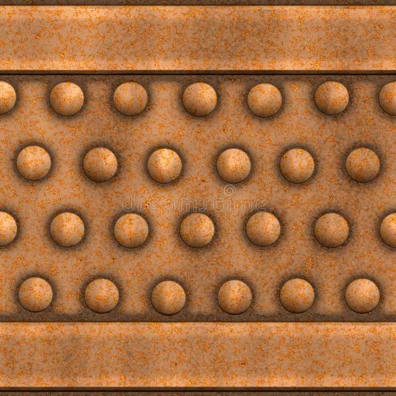 Download Old rusty metal stock illustration. Image of metal, faded - 4981558