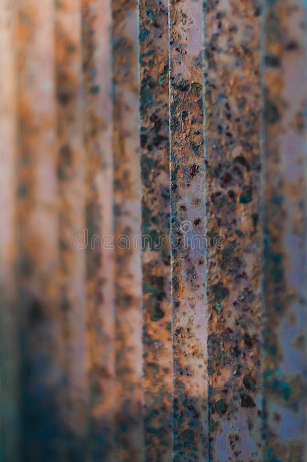 Old rusty metal grating. Outdoor royalty free stock photos