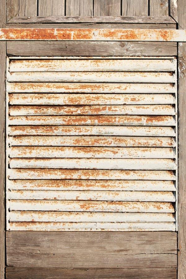 Old rusty metal lattice stock photos