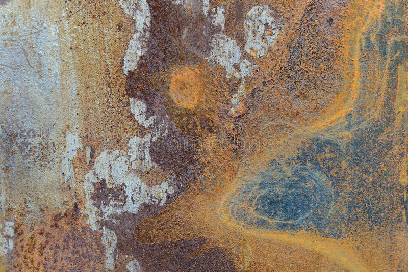 old rusty metal plate royalty free stock image