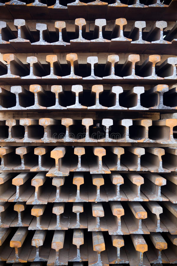 Download Old rusty rails stock photo. Image of iron, useless, material - 26710488