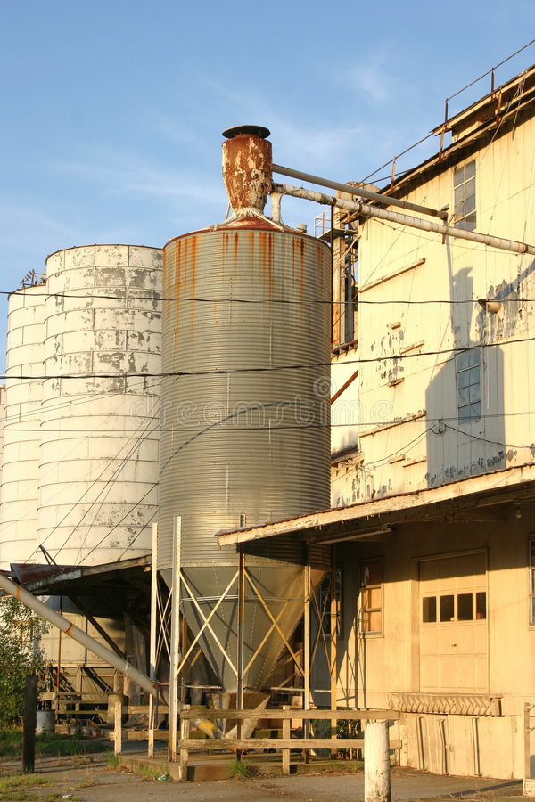 Download Old rusty silo stock image. Image of abandoned, deserted - 2766553