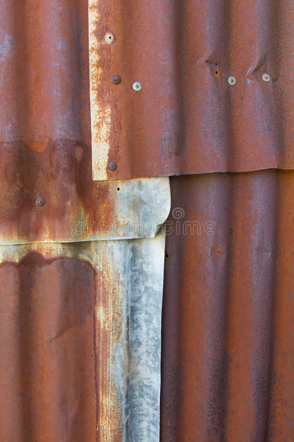 Download Old Rusty Tin Roof Stock Photo   Image: 46164076