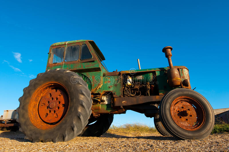Download Old Rusty Tractor stock image. Image of farming, agriculture - 11403645