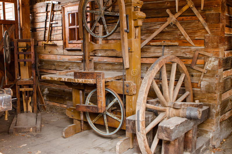 Download Old Rusty Woodworking Tools Stock Image - Image: 30643011