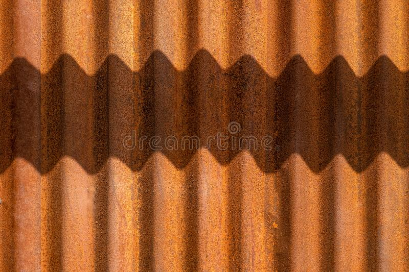 Old rusty zinc grunge texture,vintage zinc texture for background royalty free stock images