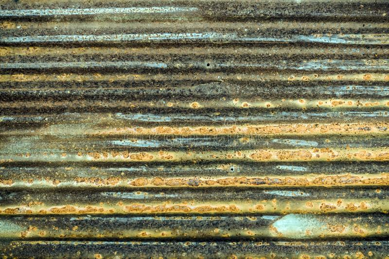 Old Zinc Texture Background Old Rusty Galvanized