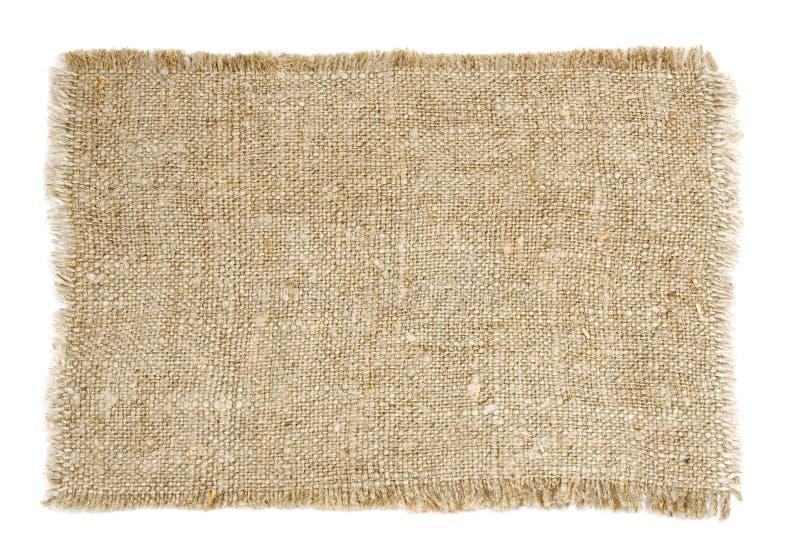 Old sackcloth stock photo