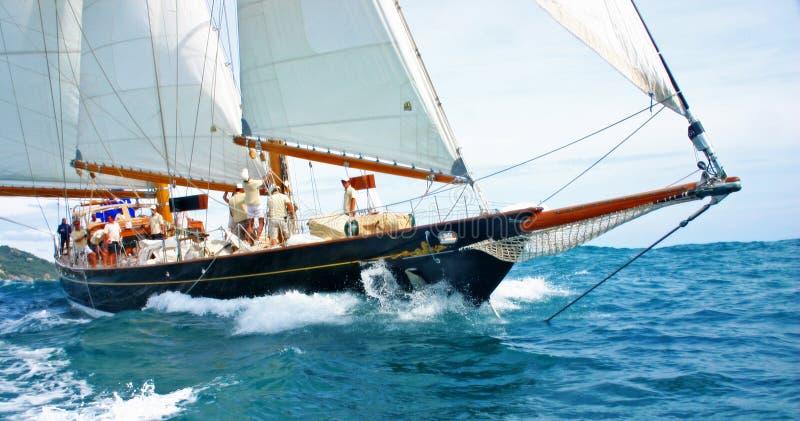 Old sailing boat royalty free stock image