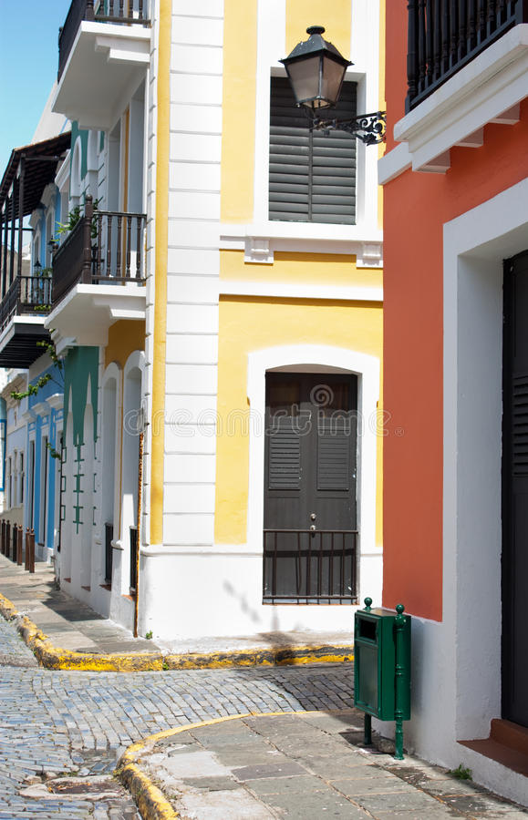 Old San Juan royalty free stock photos