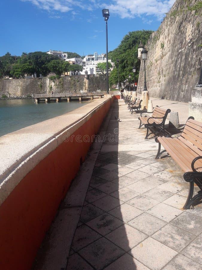 El Moro wall royalty free stock image