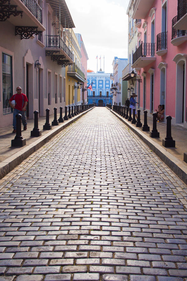 Old San Juan Puerto Rico stock images