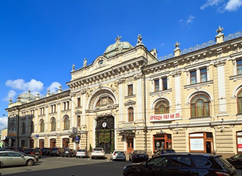 Old Sandunóvskie Baths (Sanduny). Moscow, Russia. stock photography