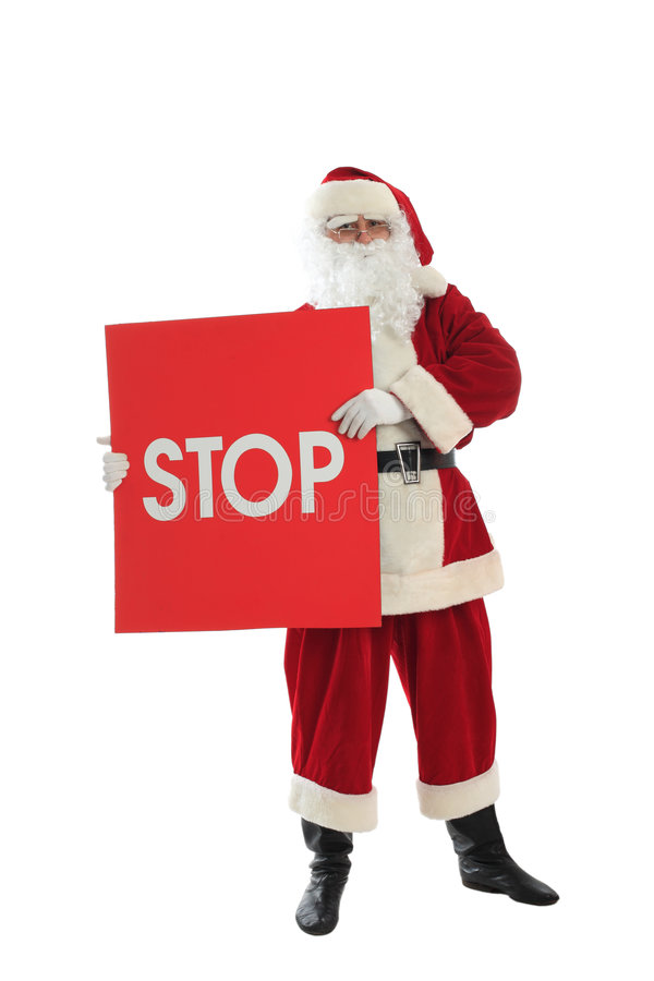 Download Old santa stock image. Image of white, nick, board, clause - 7198617