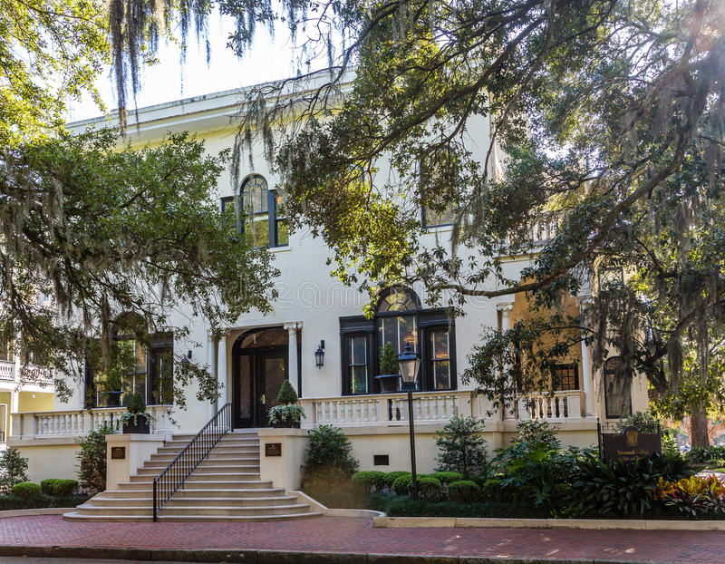 Old Savannah Home royalty free stock photography