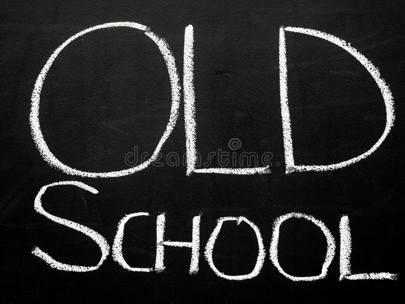 Download Old school stock photo. Image of retro, blackboard, abstract - 27483012