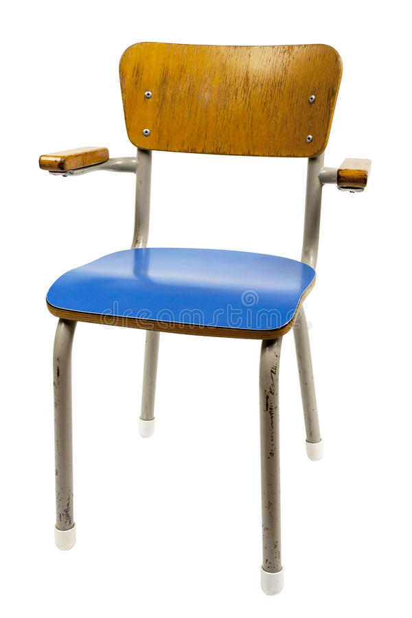 Old school chair stock image