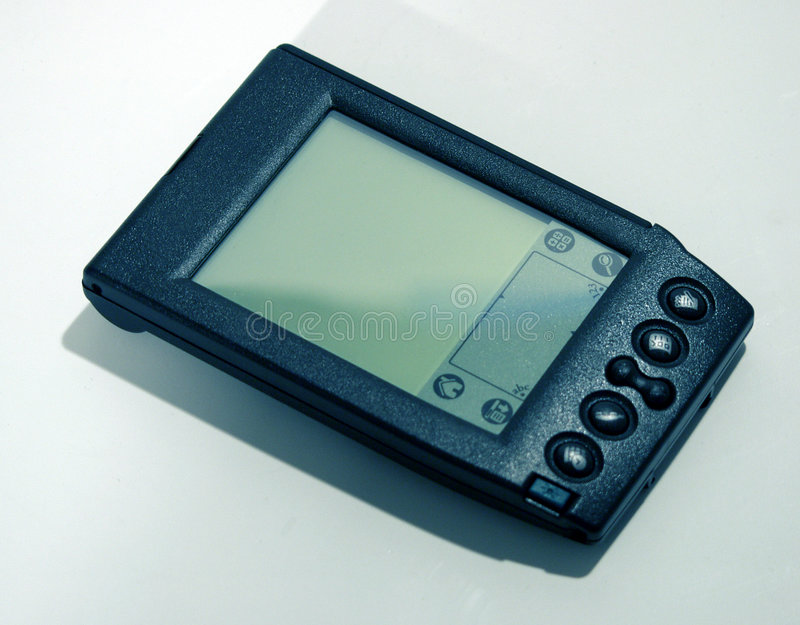 Download Old school PDA stock photo. Image of digital, personal, palm - 21036