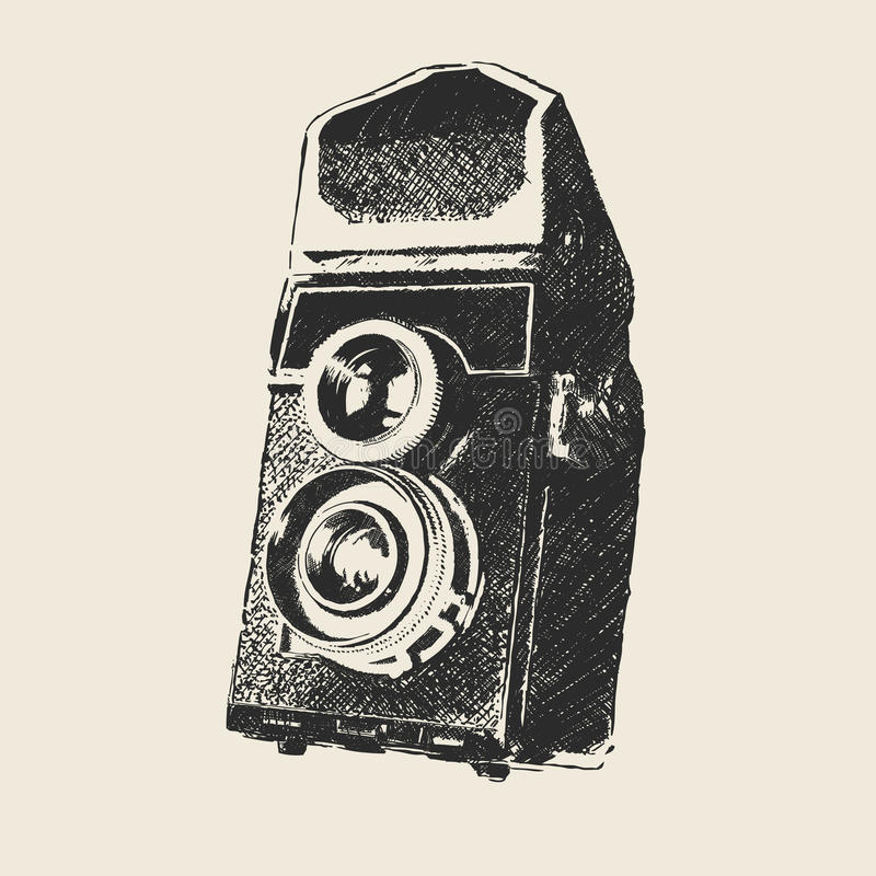 Old school photography stock images