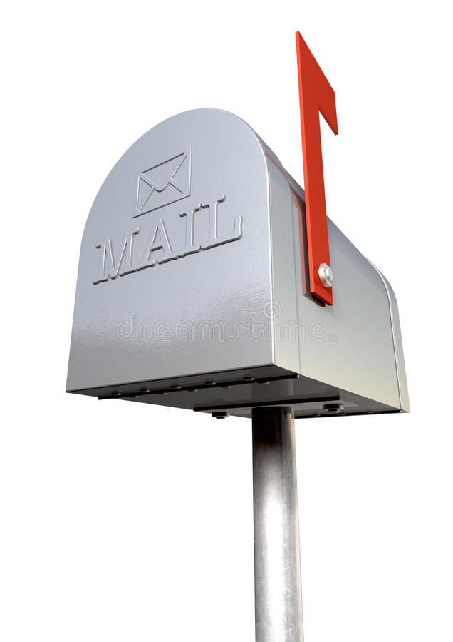 Download Old School Retro Metal Mailbox Royalty Free Stock Images - Image: 26907139