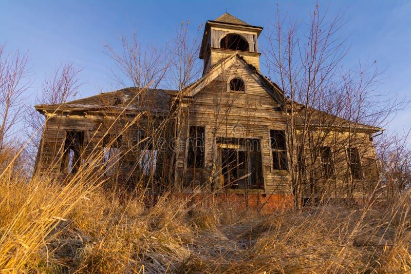 Old Schoolhouse arkivfoton