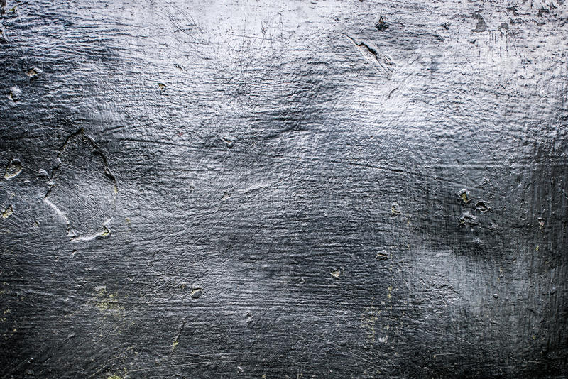 Old scratched metal texture. With shaded edges royalty free stock photos