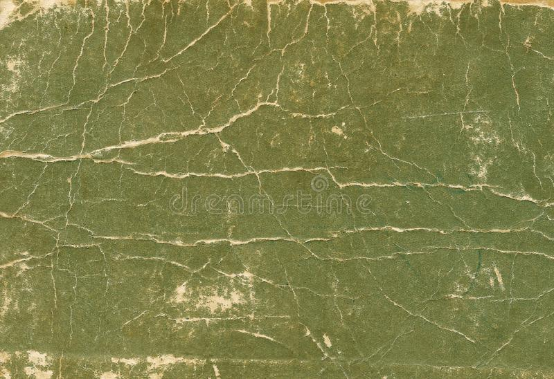 Old scratched and torn paper book cover surface. Abstract background and texture for design royalty free stock photography